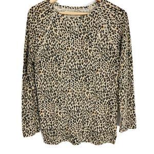 Obey Propaganda Leopard Sweater XS